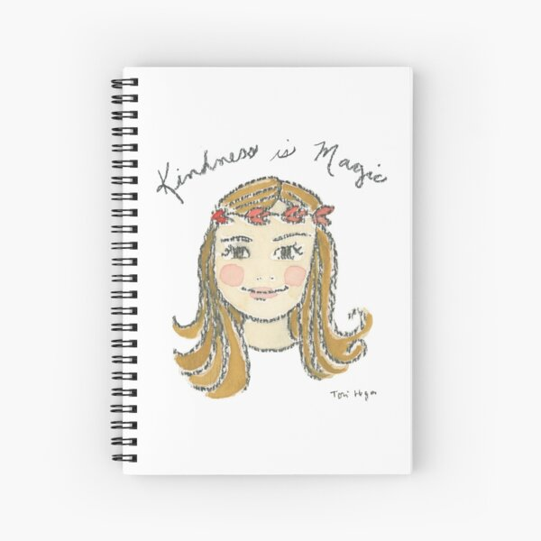 Kindness is Magic Spiral Notebook