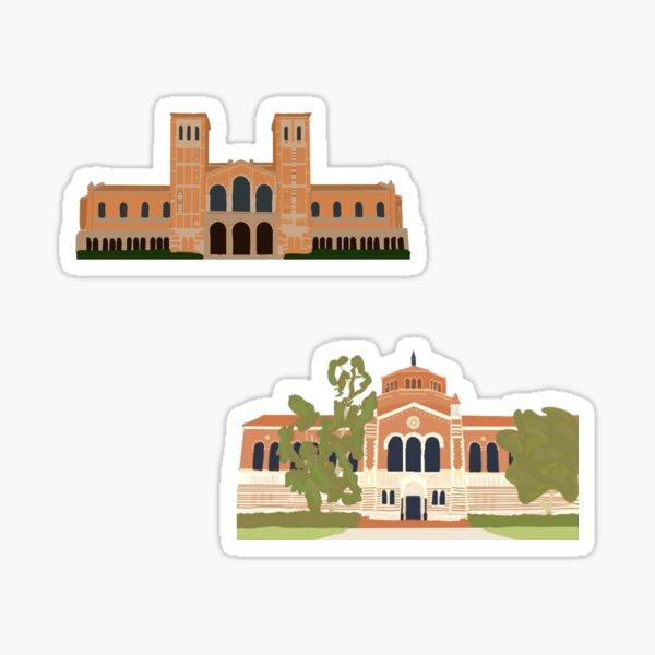 royce and powell, UCLA sticker set Sticker