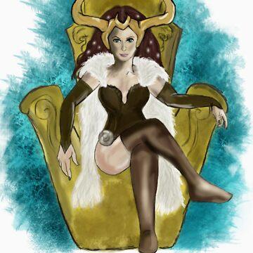 Lady Loki by violenturge89