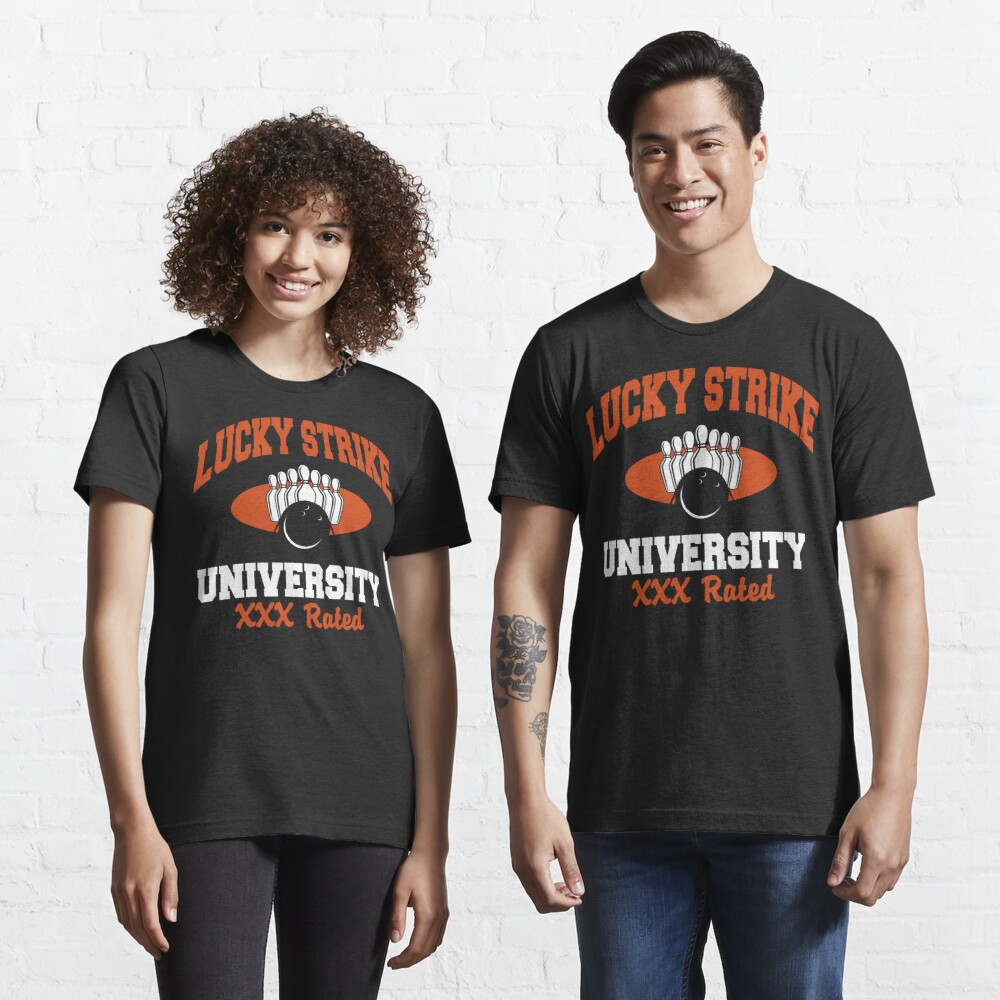 Lucky Strike University Bowling T-Shirt XXX Rated Essential T-Shirt