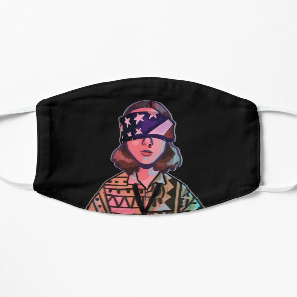 Fourth Of July Eleven Flat Mask