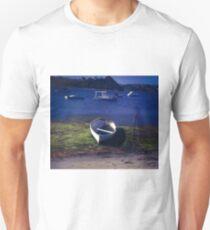 Boats on a lake Unisex T-Shirt