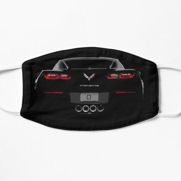 Corvette C7 Rear View  Flat Mask
