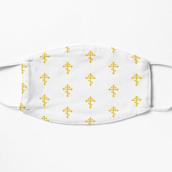 Orthodox Cross in Gold Flat Mask