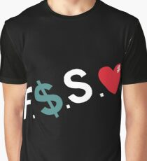 Official Fuck Money Spread Love - J.cole Graphic T-Shirt