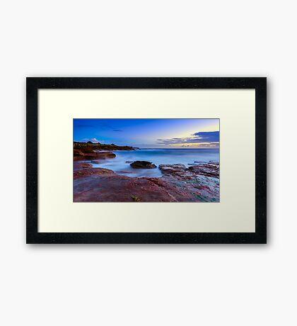 The Rocky Coast Framed Print
