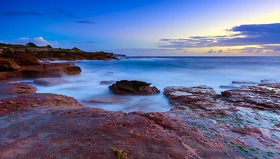 The Rocky Coast by Mark  Lucey