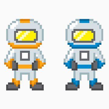 Sips and Sjin (Yogscast) - Spacemen by Weedlogger