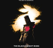 The Black Knight Rises (Text Version) Unisex T-Shirt