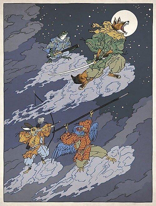 Ninja starfox by photonatum