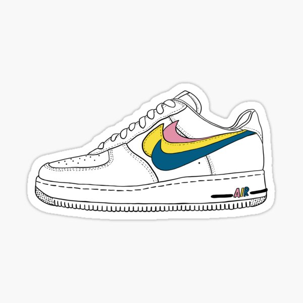Air Force One custom design Sticker
