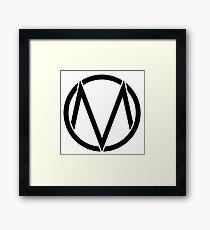 The maine - Band logo Framed Print
