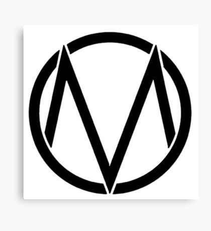 The maine - Band logo Canvas Print