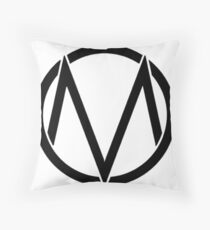 The maine - Band logo Throw Pillow