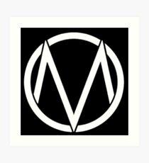 The Maine - Band  Logo White Art Print