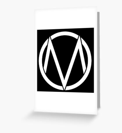 The Maine - Band  Logo White Greeting Card