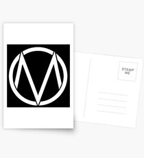 The Maine - Band  Logo White Postcards