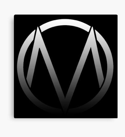 The Maine - Band  Logo Fade Canvas Print