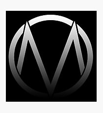 The Maine - Band  Logo Fade Photographic Print
