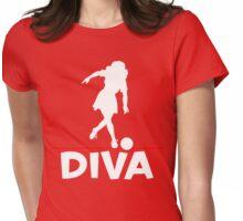Bowling Diva T-Shirt Womens Fitted T-Shirt