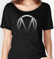 The Maine - Band  Logo Fade Women's Relaxed Fit T-Shirt