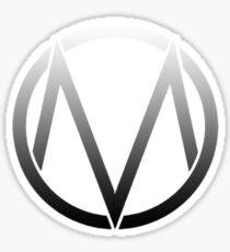 The Maine - Band  Logo Fade Sticker