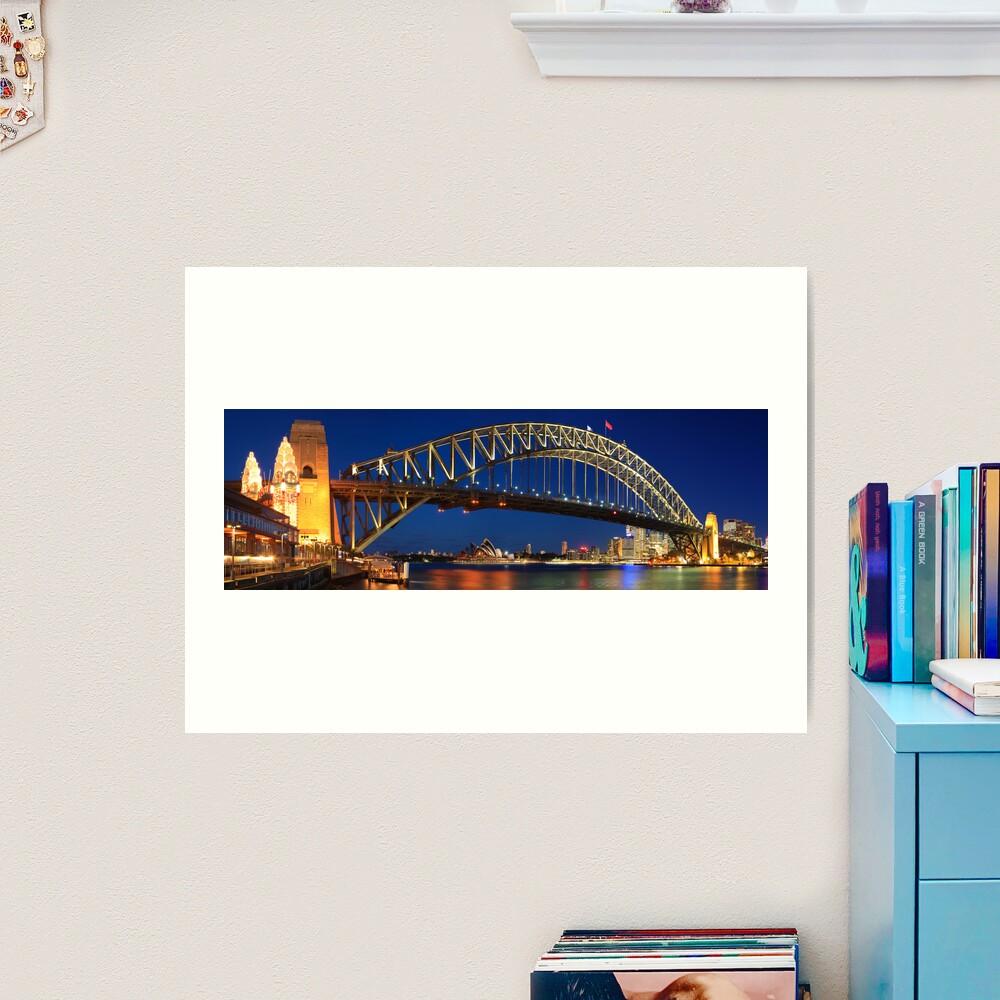 Sydney Harbour Bridge, New South Wales, Australia Art Print