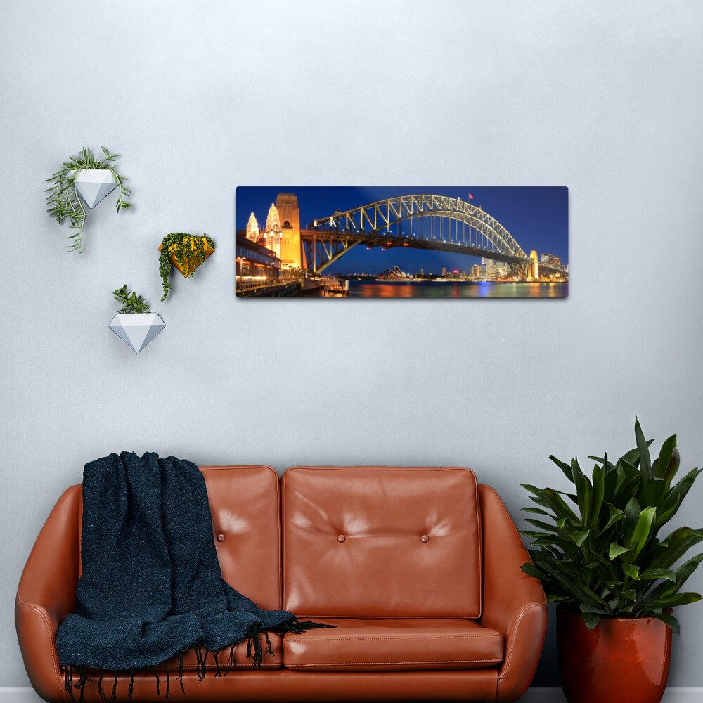 Sydney Harbour Bridge, New South Wales, Australia Metal Print