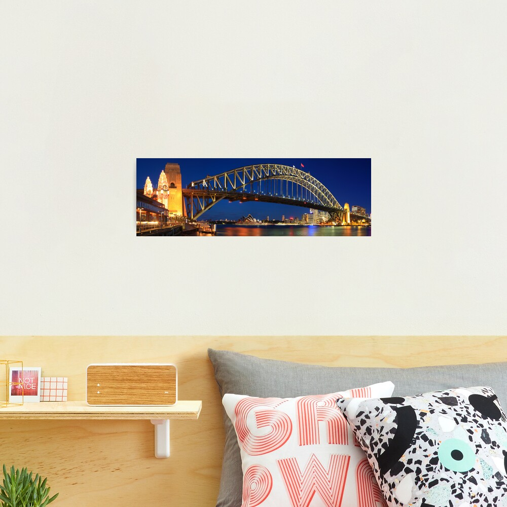 Sydney Harbour Bridge, New South Wales, Australia Photographic Print