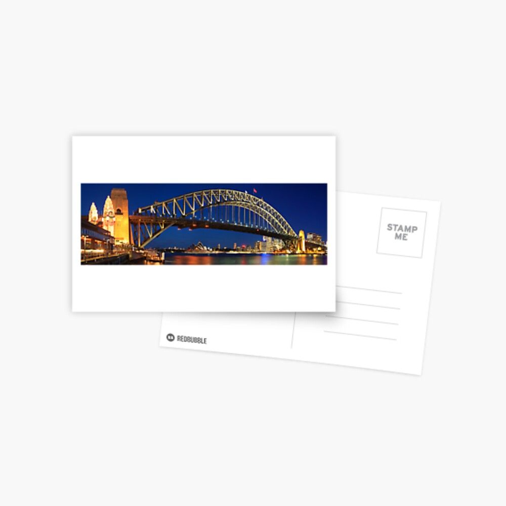 Sydney Harbour Bridge, New South Wales, Australia Postcard
