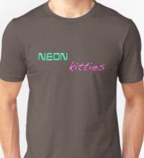 neon kitties... T-Shirt