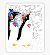 Cold Feet Warm Heart Sticker