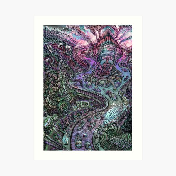 Limbo Lounge Dusk Edition Art Print
