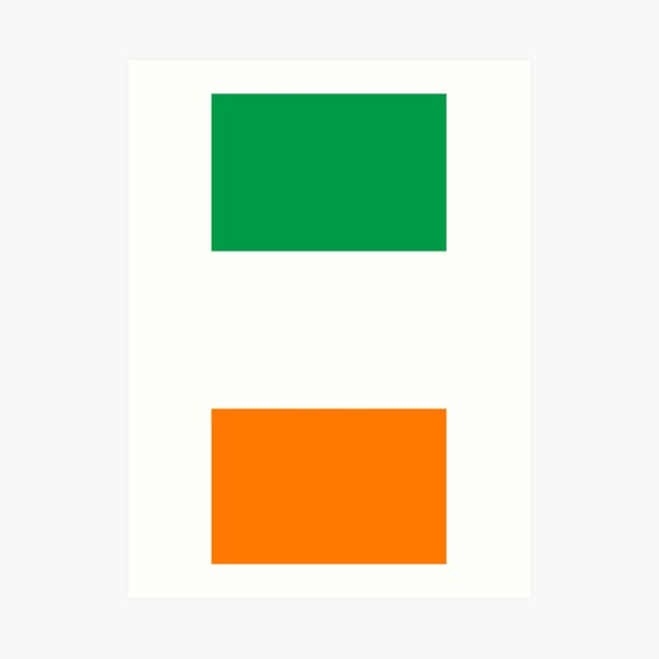 Irish Flag Collection Art Print
