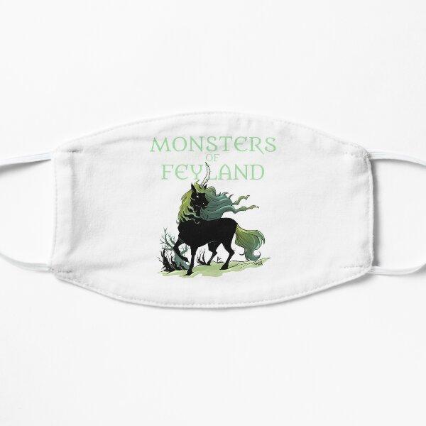 Black Unicorn from Monsters of Feyland Mask