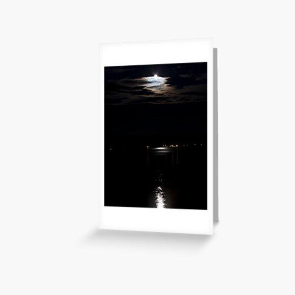 Moon Over Winni Greeting Card