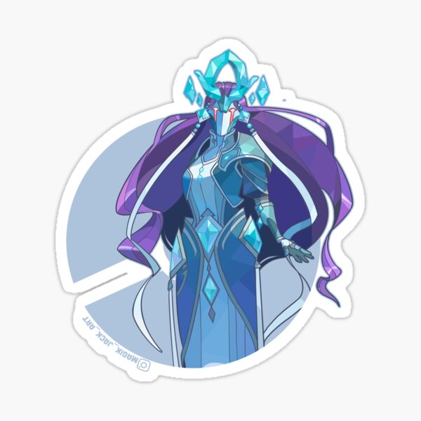 Crystal Mage of the Burned Tower Sticker