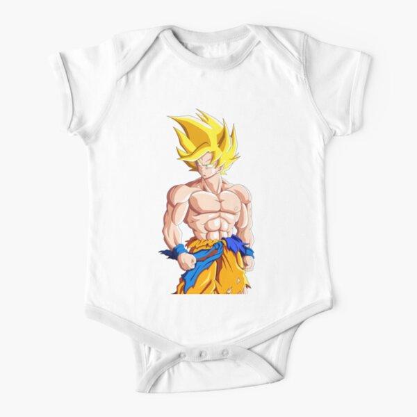 GOKU DRAGON BALL Z Body de manga corta para bebé