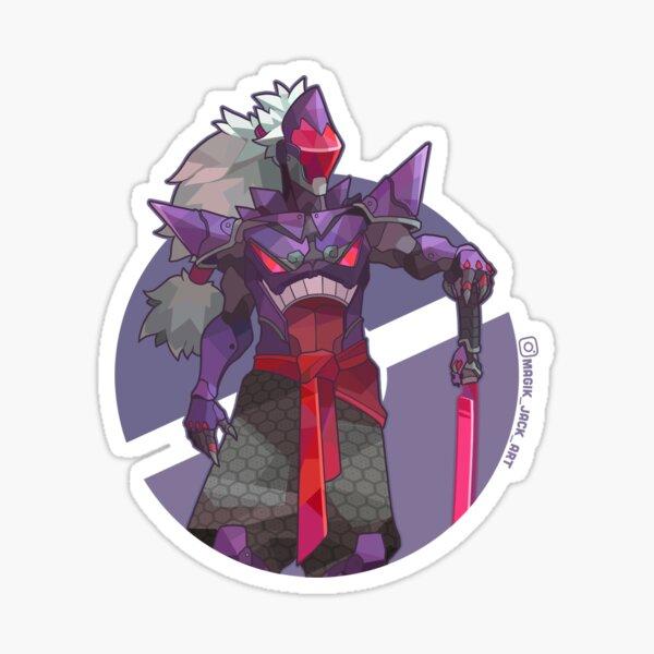Blade of the Purple Smog Sticker
