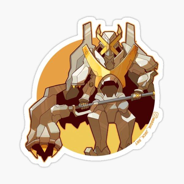 Gold X  Sticker
