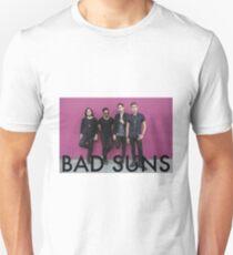 Bad Suns pink wall Unisex T-Shirt