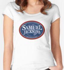 SamueL Jacksons Women's Fitted Scoop T-Shirt