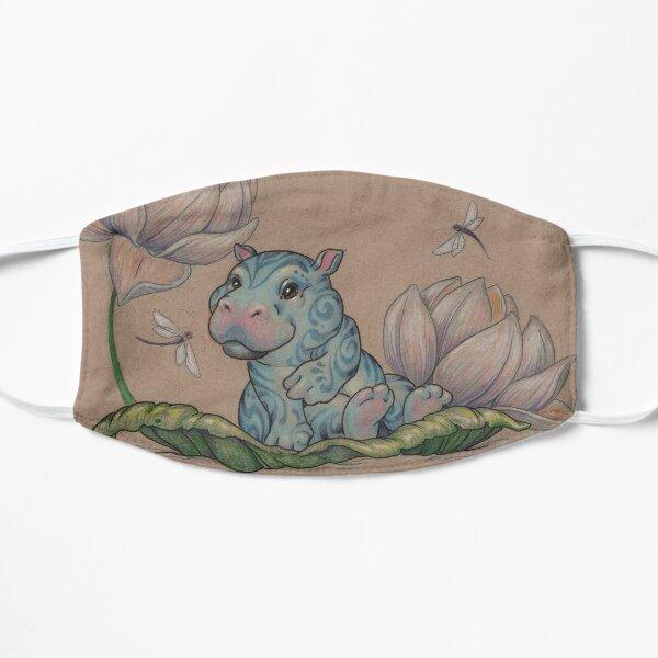 Very Small Lotus Hippo Flat Mask