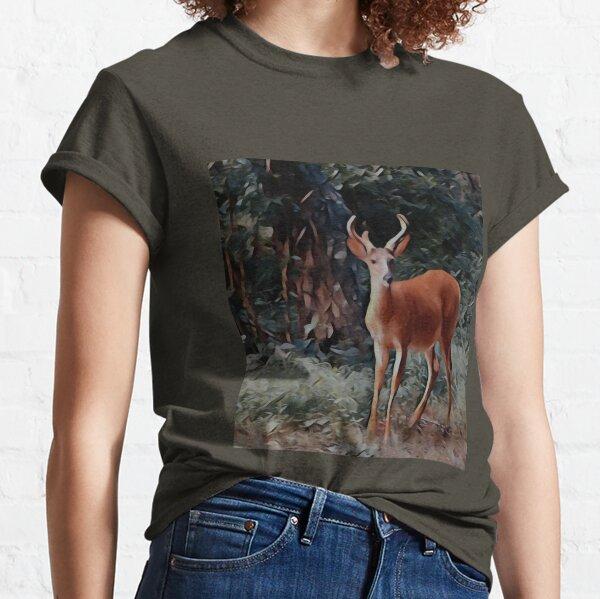The yearling Buck Deer Classic T-Shirt
