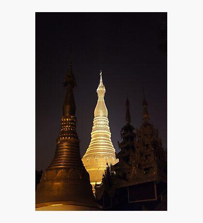 Schwedagon Pagoda, Photographic Print