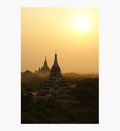 Old Bagan, Myanmar Photographic Print