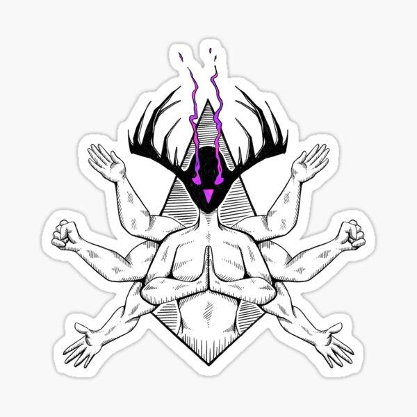 Demon Within Sticker