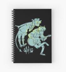 Cuaderno de espiral W2H - Guitarra (logotipo de acrónimo)