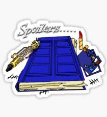 Spoilers..... Sticker