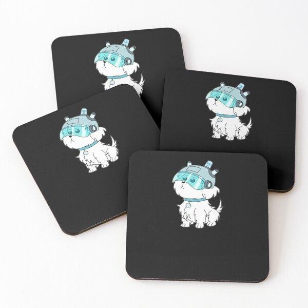 Snuffles Coasters (Set of 4)